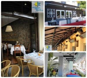 restaurant collage