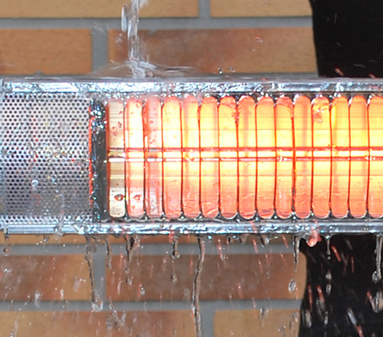 Aura All Season Weather Resistant Quartz Heaters