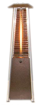 Tabletop Glass Tube Patio Heater