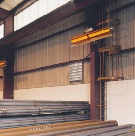 Heatstar High Intensity Overhead Gas Heaters
