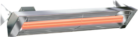 Infratech Comfort Heat Quartz Radiant Heaters W-Series Dual Element