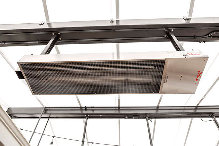 Calcana Ph40ho Outdoor Patio Heater 5 Feet In Length