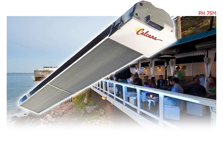 Calcana Marine Grade Gas Patio Heaters For Extreme