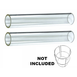 Quartz Glass Tube Replacement (2 Piece)