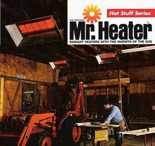 Mr. Heater *Hot Stuff* Series MH40LP/MH40NG