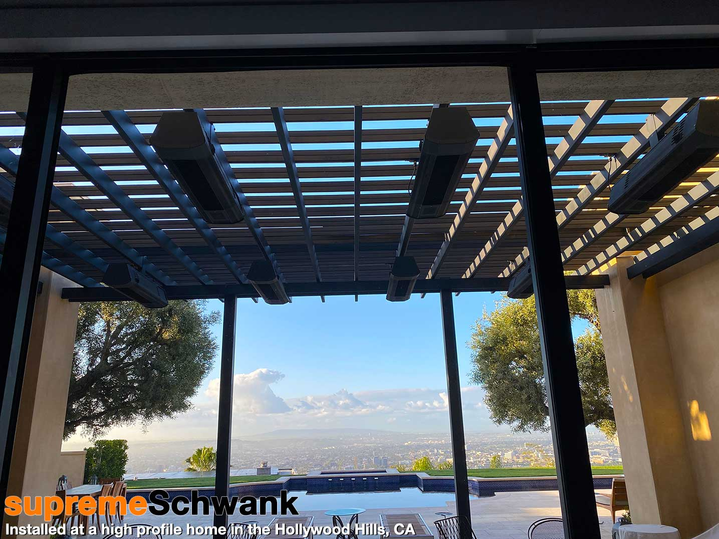 Schwank Heaters Hollywood Hills Installation