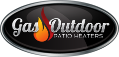 Gas outdoor patio heaters logo