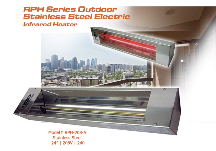 optional accessories recommended mounting height och46 och57 - Fostoria Heaters