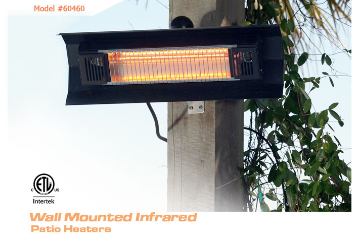 Beautiful Our Heavy Duty Wall Mounted Infrared Patio Heater Introduces A New  Revolution In Outdoor Heating. Operating At 90% Heating Efficiency, This  Infrared Patio ...