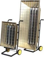 Heavy Duty Flat Panel Electric Portable Infrared Heaters FSP-Series