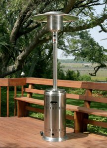 Firesense Stainless Steel Commercial Patio Heater 01775
