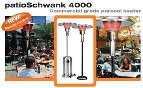 Parasolschwank Standing Outdoor Portable Gas Patio Heater