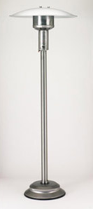 Stand Up Patio Comfort Infrared Ng Patio Heaters Stainless