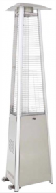 Commercial Glass Tube Stainless Steel Patio Heater